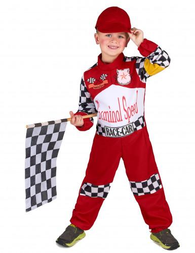 Déguisement pilote de course enfant