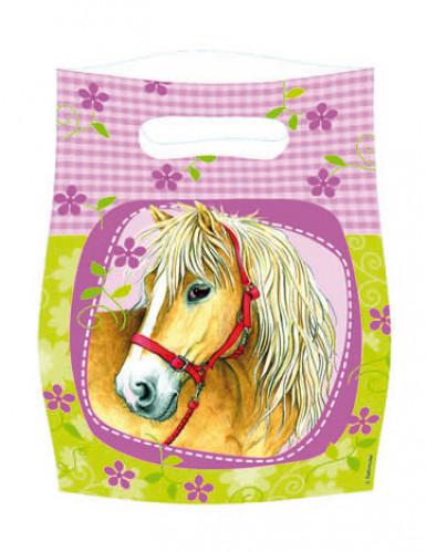 6 Sacs de fête Charmants chevaux