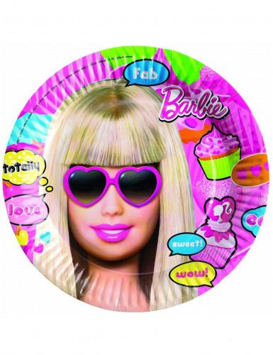 8 Assiettes Barbie™
