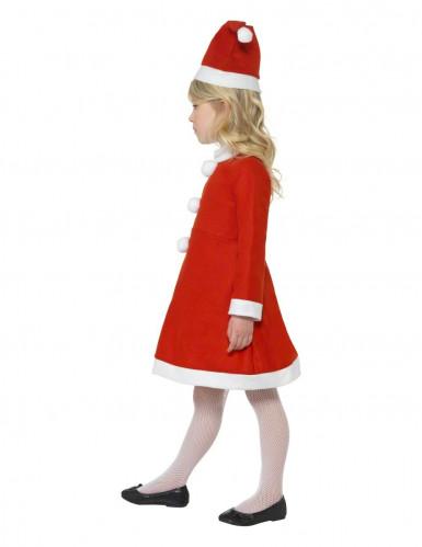Déguisement Mère Noël fille-1