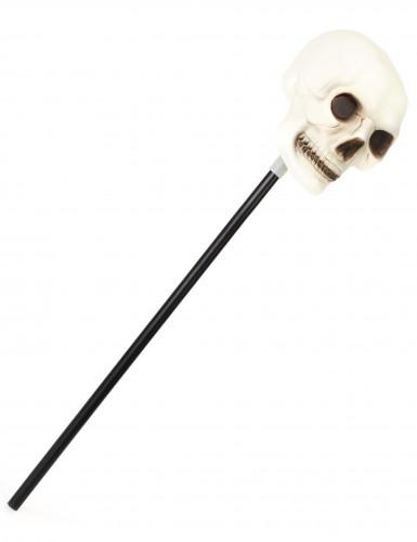 Sceptre tête de mort Halloween
