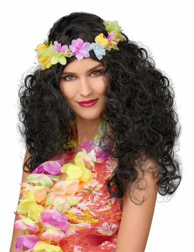 Perruque Hawaienne femme
