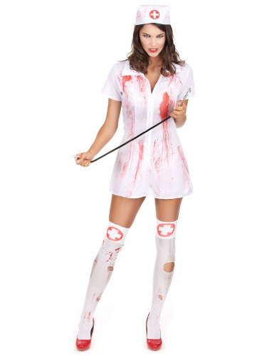 Déguisement infirmière psychopathe Halloween
