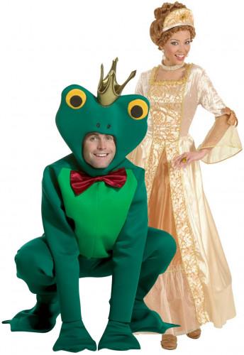 Déguisement couple princesse & grenouille