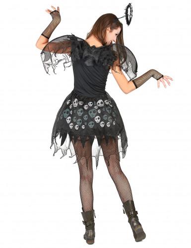 Déguisement ange gothique femme-2