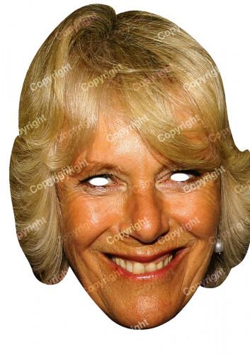 Masque carton Camilla Parker Bowles
