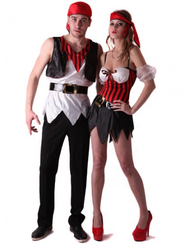 Déguisement couple pirate