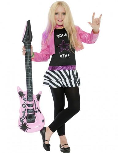 Déguisement rock star fille