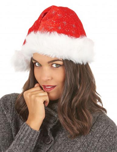 Bonnet Noël scintillant-2