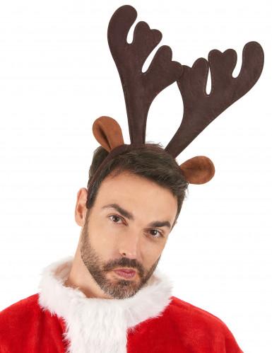 Serre tête renne Noël-1