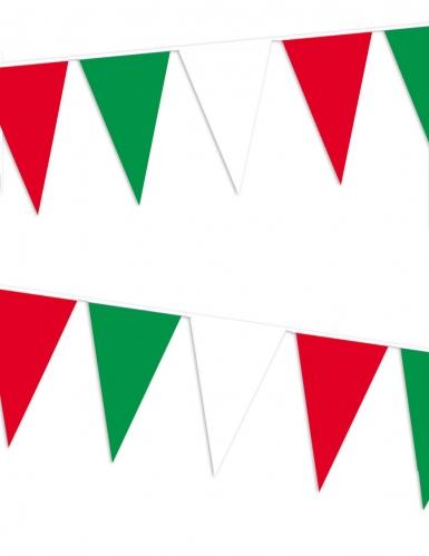Guirlande de supporters fanions italiens