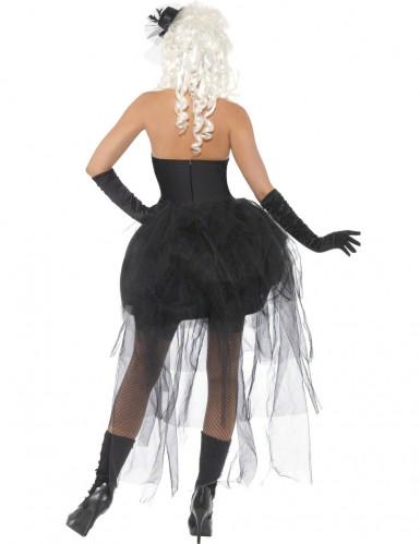 Déguisement squelette gothique femme Halloween-2