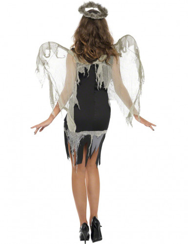 Déguisement ange déchu femme Halloween-2