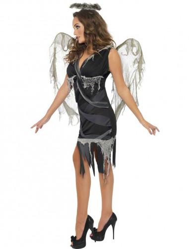 Déguisement ange déchu femme Halloween-1