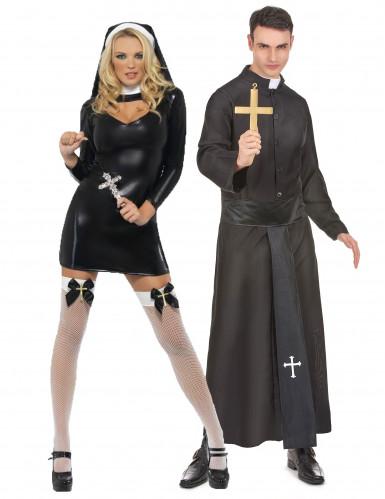 Costume couple religieux