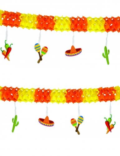 Guirlande mexicaine en papier