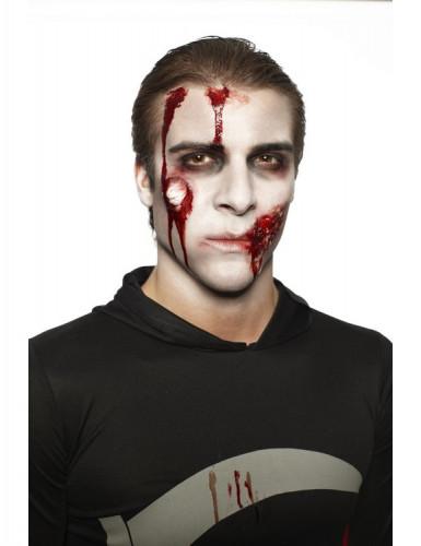 Kit maquillage zombie adulte halloween d coration anniversaire et f tes th me sur vegaoo party - Maquillage zombie homme ...