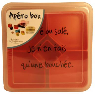 Boîte apéro carrée