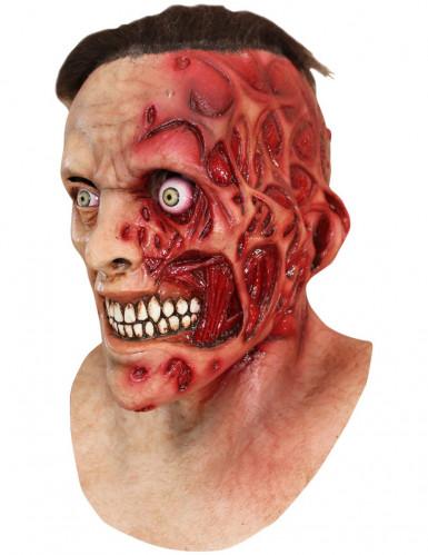 Masque homme brûlé adulte Halloween
