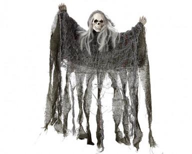 Décoration tête de mort halloween
