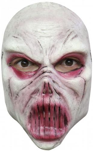 Masque monstre blanc adulte Halloween