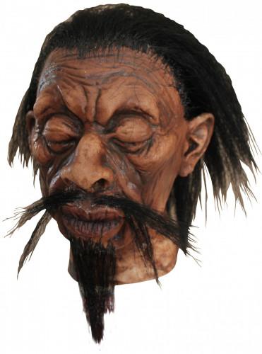 Décoration tête vaudou adulte Halloween