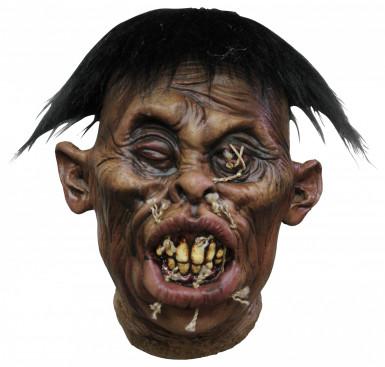 Décoration tête vaudou recousue adulte Halloween