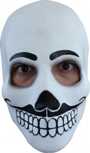 Masque crâne adulte Dia de los Muertos homme