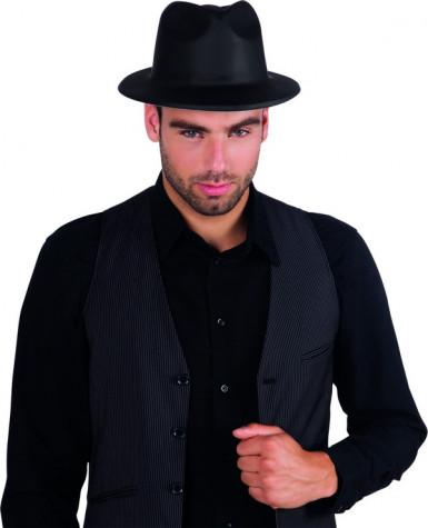 Chapeau gangster adulte noir