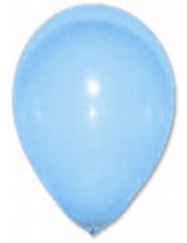24 Ballons turquoise 25 cm