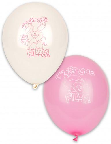 10 Ballons C'est une fille !