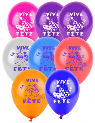 10 Ballons Vive la fête