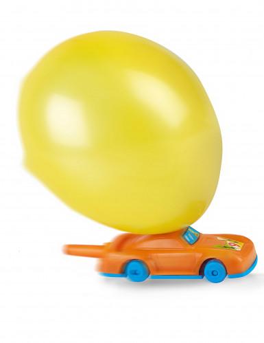 5 Ballons avec pompe voiture-1