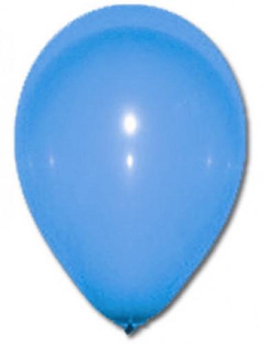 100 Ballons bleus 27 cm
