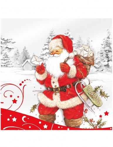 Serviette père Noël