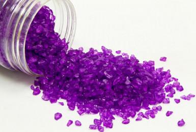 Pépites de verre prune 400 grammes
