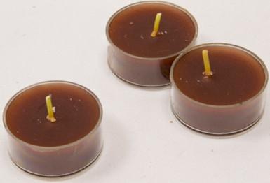 6 Bougies chauffe-plats bordeaux
