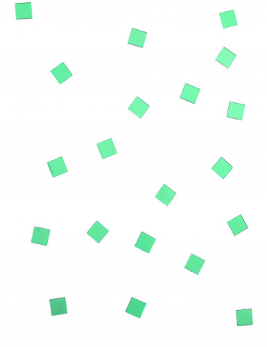 20 Mini miroirs carrés verts-1