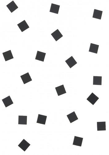 20 Mini miroirs carrés noirs