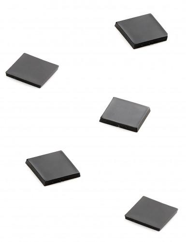 20 Mini miroirs carrés noirs-1