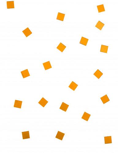 20 Mini miroirs carrés orange-1
