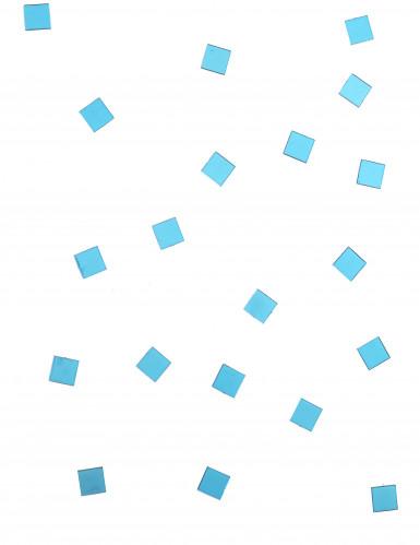 20 Mini miroirs carrés turquoise-1