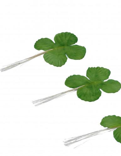 12 Trèfles verts