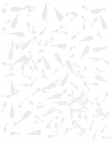 10g Confettis de table blancs-1