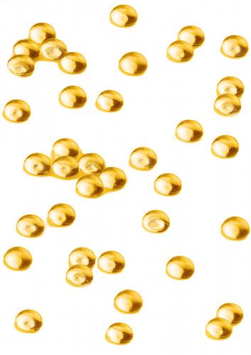 Perles effet goutte de pluie orange 80 gr