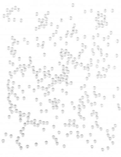 Perles effet goutte de pluie transparentes 80 gr-1