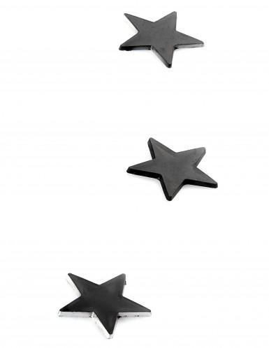 10 mini miroirs étoiles noirs-1