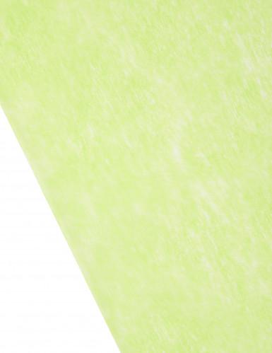 Chemin de table en intissé vert 10m-1