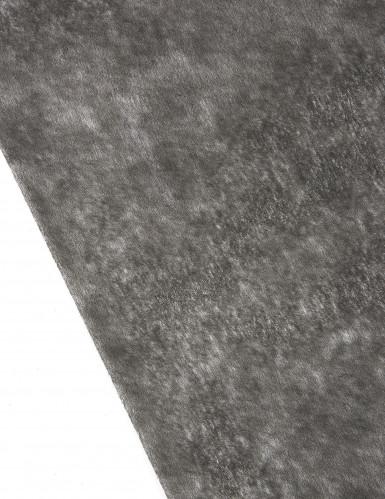 Chemin de table intissé uni noir 10 m-1