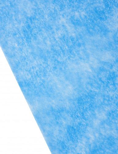 Chemin de table intissé uni bleu royal-1